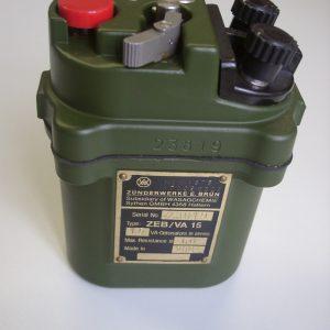 Exploseur mécanique ZEB / VA15