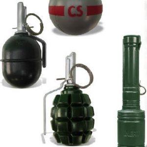 Kit d'entraînement grenades inertes
