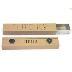 Boîte magnétique de détection olfactive K9