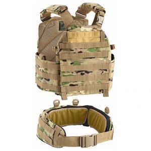 Gilet porte-plaques avec ceinture MOLLE