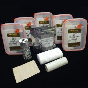 Kit de détection d'explosifs