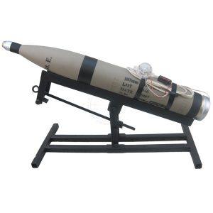 Lanceur 107 mm improvisé