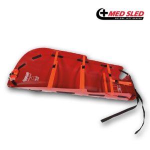 Brancard bariatrique Med Sled MS48 rouge